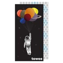 Towee SPACE BALLOON gyorsan száradó törölköző, 80 x 160 cm