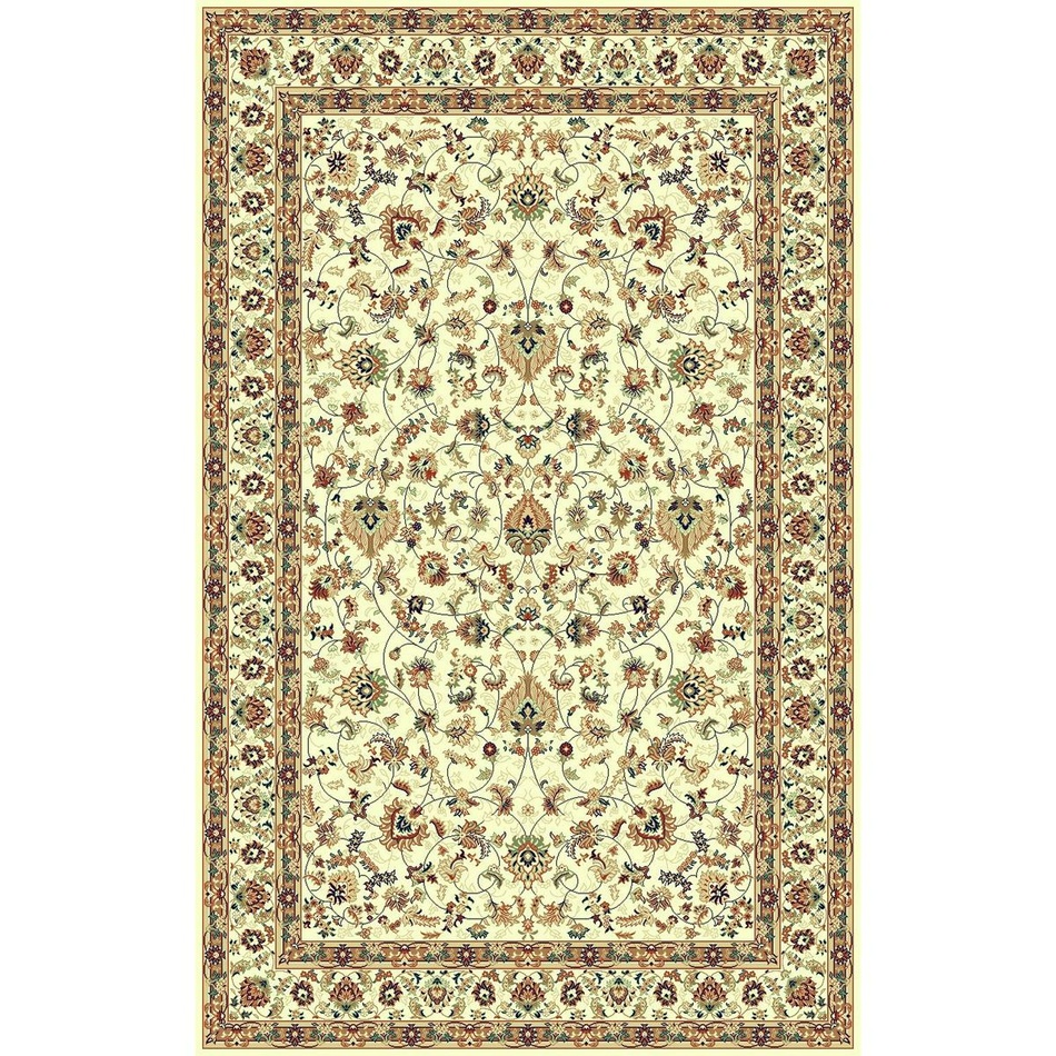 Habitat koberec Brilliant frame béžová, 67 x 130 cm