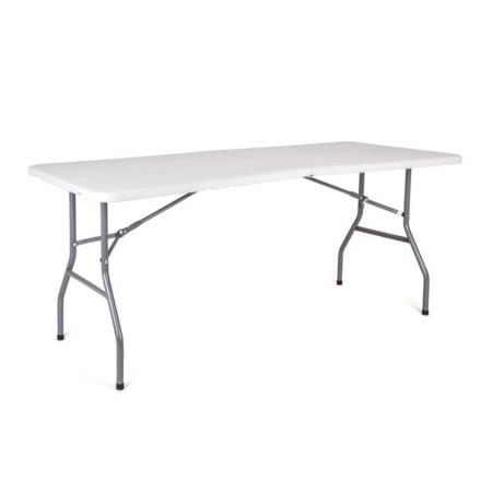Happy Green Záhradný skladací stôl Oblo, 180 x 74 x 74 cm