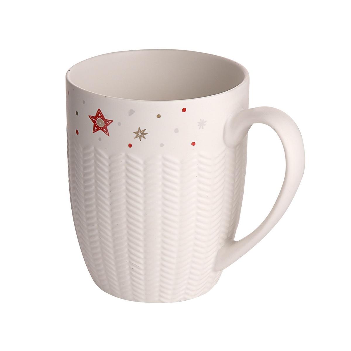 Altom Vánoční porcelánový hrnek Rudolf, 300 ml
