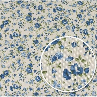 Ubrus Ivo Růžička modrá, 120 x 140 cm