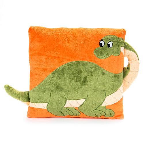 Kispárna füllel dinoszaurusz, 33 x 33 cm