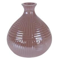 Loarre váza, rózsaszín, 12,5 x 14,5 cm