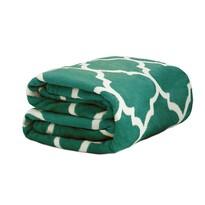 Domarex Novia takaró, zöld/fehér, 150 x 200 cm