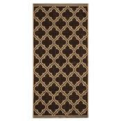 Ręcznik Castle brązowy, 50 x 100 cm