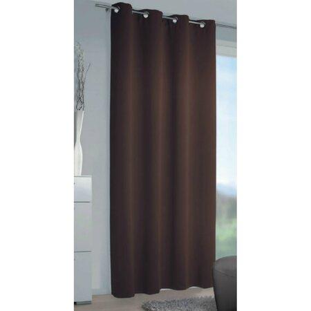 Zatemňovací záves Mia čokoládová, 140 x 245 cm