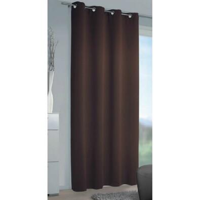 Zatemňovací závěs Mia čokoládová, 140 x 240 cm