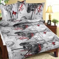 Bellatex Krepové obliečky Romantika, 140 x 200 cm, 70 x 90 cm