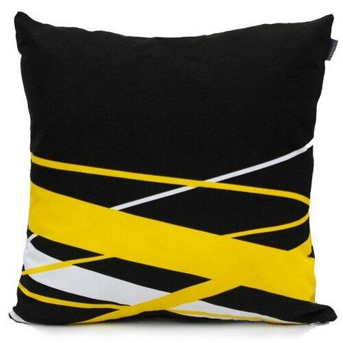 "Domarex Povlak na polštář  Yellow Space Love ""POP ART"", 45 x 45 cm"