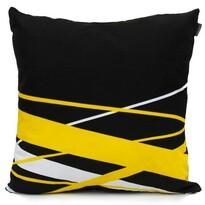 """Față de pernă Domarex  Yellow Space Love""""POP ART"""", 45 x 45 cm"""