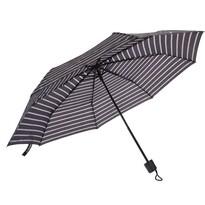 Skládací deštník černá, 52,5 cm
