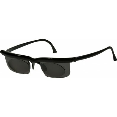 Nastavitelné dioptrické sluneční brýle Adlens, černá