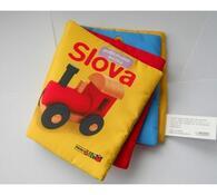 Polštářková knížka Slova, vícebarevná