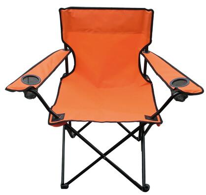 Rybářská židle Oxford oranžová