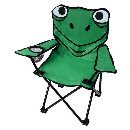Cattara Dětská kempingová židle Frog, zelená
