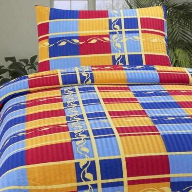Krepové povlečení Oriente, 140 x 200 cm, 70 x 90 c, vícebarevná, 140 x 200 cm, 70 x 90 cm
