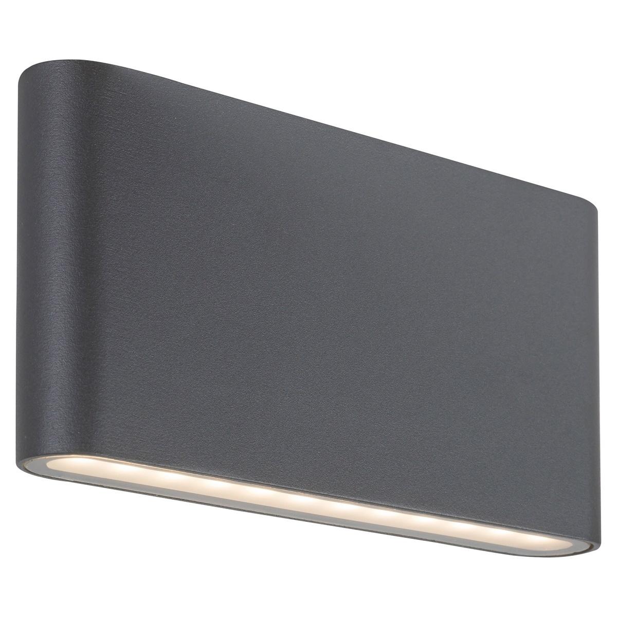 Produktové foto Rabalux 7952 Nesna Venkovní LED nástěnné svítidlo, černá