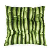 Sedák bambus zelená, 40 x 40 cm