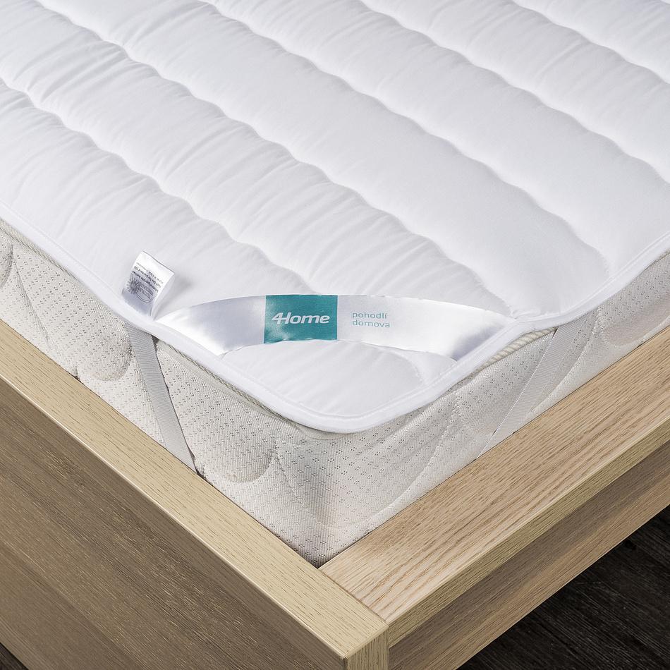 4Home Prošívaný chránič matrace s gumou Royal, 180 x 200 cm, 180 x 200 cm