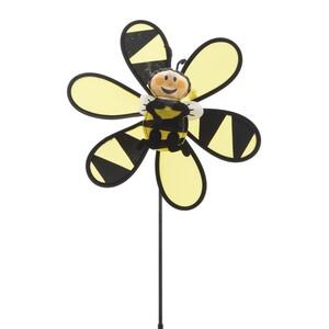 Zahradní větrník Včelka žlutá, 45 cm