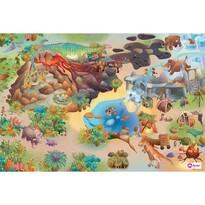 Domarex Little Hippo Dinoszauruszok gyerek   szőnyeg, 75 x 112 cm