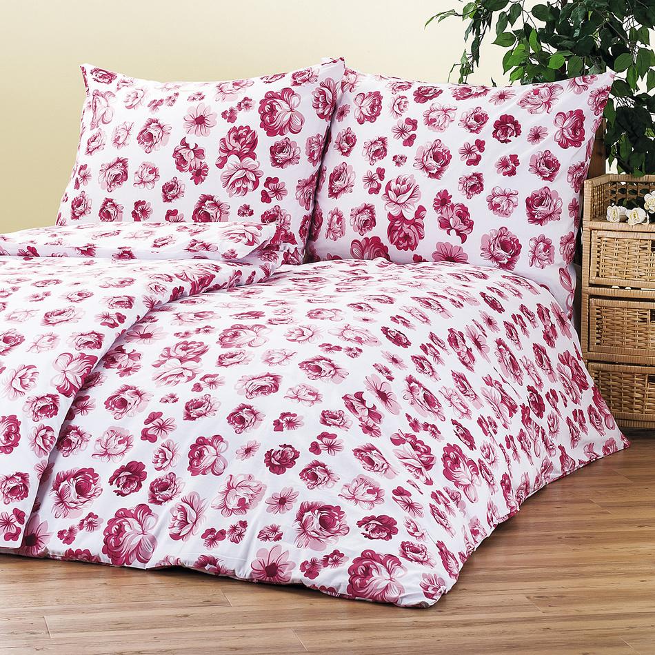 4Home bavlnené obliečky Floral, 220 x 200 cm, 2 ks 70 x 90 cm