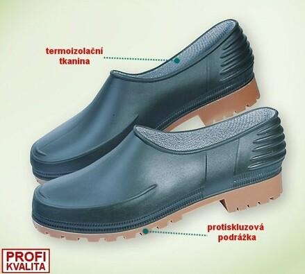Zahradní obuv vel. 43
