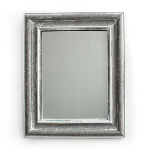 Zrkadlo v drevenom ráme Caruso, sivá, Dakls