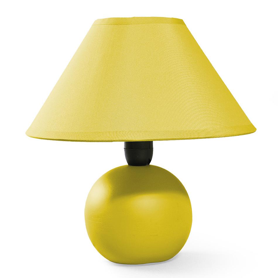 Stolní lampa Ariel,žlutá