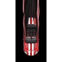 Red Car törölköző, 70 x 140 cm