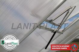 Skleník VITAVIA VENUS 3800 PC 4 mm stříbrný