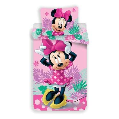 Jerry Fabrics Detské obliečky Minnie Tropic micro, 140 x 200 cm, 70 x 90 cm
