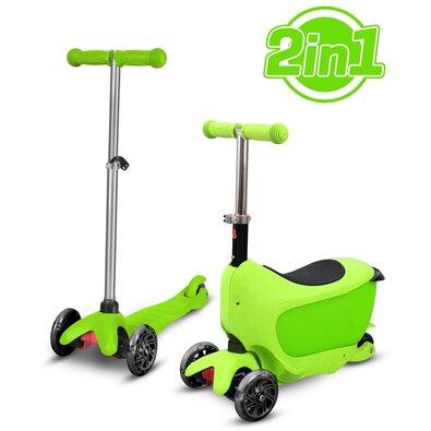 Buddy Toys BPC 4311 Koloběžka Taman 2v1, zelená