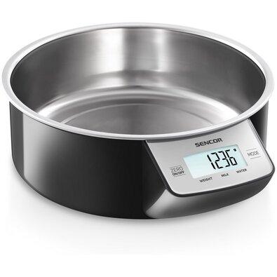 Sencor SKS 4030BK kuchyňská váha, nerez