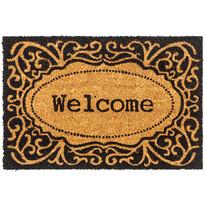 Kokosová rohožka Welcome Ornament, 40 x 60 cm