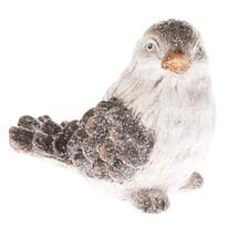 Keramická dekorácia Vtáčik, 12,5 x 11 cm