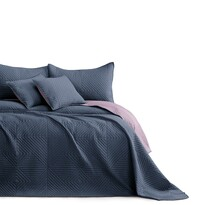 AmeliaHome Cuvertură de pat Softa cărbune - mov, 220 x 240 cm