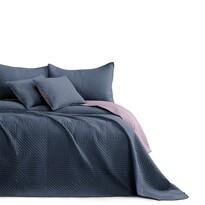 AmeliaHome ágytakaró Softa charcoal - mauve, 220 x 240 cm