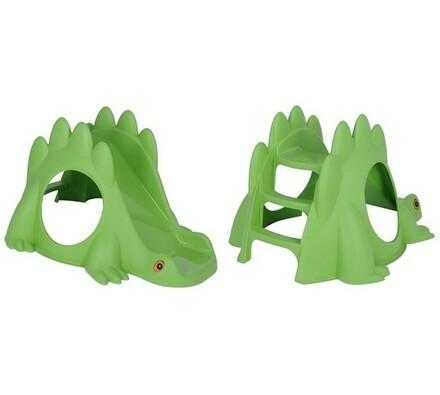Dinosauří skluzavka, zelená
