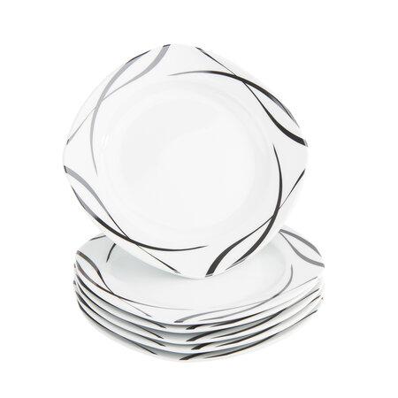 Domestic Sada dezertních talířů Oslo, 20,5 cm, 6 ks