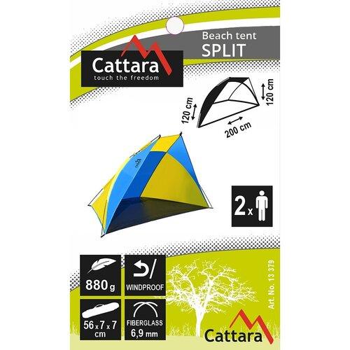 Cattara Plážový stan Split, 200 x 120 x 120 cm