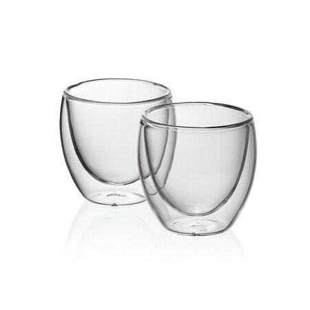 Kela 2-częściowy komplet szklanek na espresso CORTONA, 50 ml
