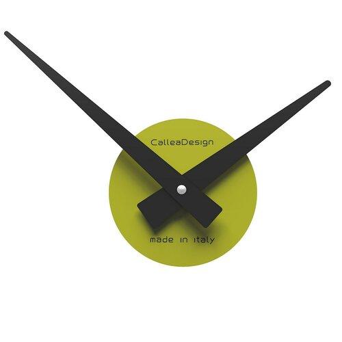 CalleaDesign 10-311-76 nástenné hodiny zelené