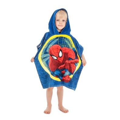 Dětské pončo Spiderman, 60 x 120 cm