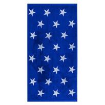 Ručník Stars modrá, 50 x 100 cm