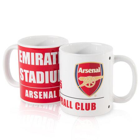 FC Arsenal Keramické hrnčeky 350 ml balenie 2 kusy