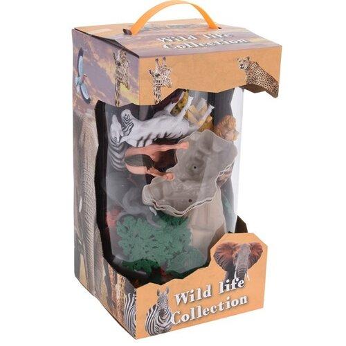 Dětský hrací set Wild life Collection, 26 ks