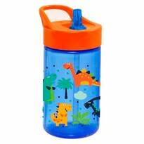 Florina Detská plastová fľaša Dino, 430 ml