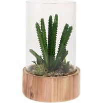 Koopman dekoratív műnövény-elrendezés, Gualdalupa, 23 cm