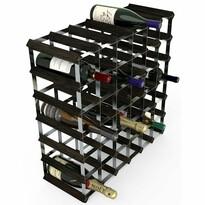 RTA Stojan na víno na 42 fliaš, čierny jaseň
